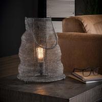 Tafellamp 'Reese' Gaas met handvat, Ø30cm