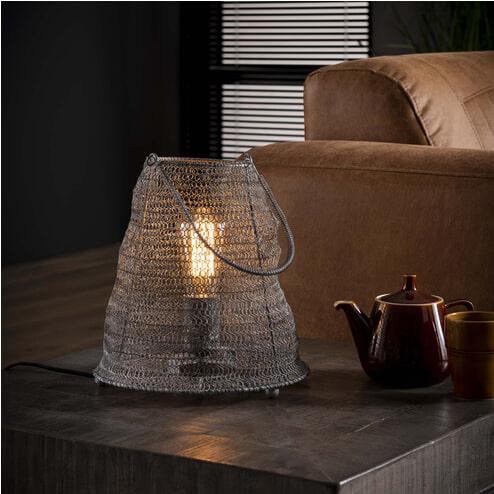 Tafellamp 'Reese' Gaas met handvat