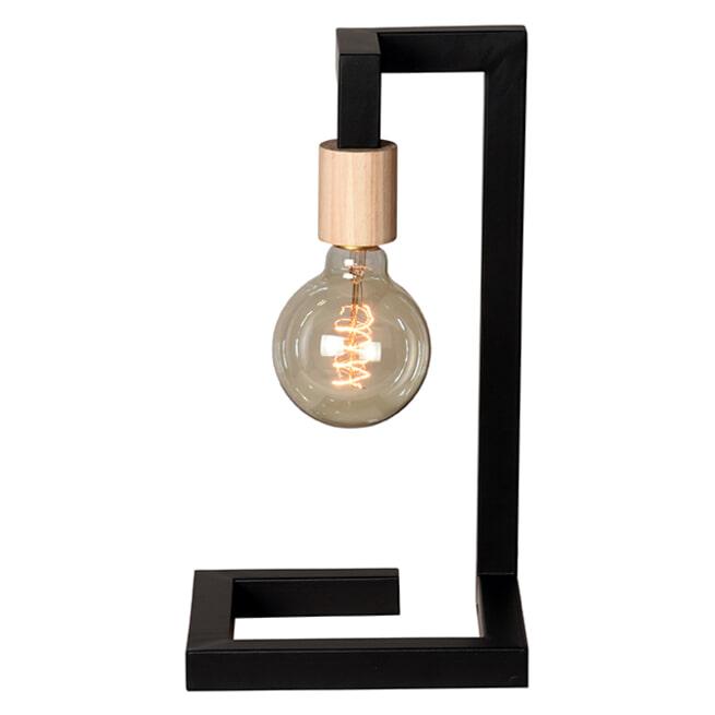 LABEL51 Tafellamp 'Loco', Metaal, kleur Zwart