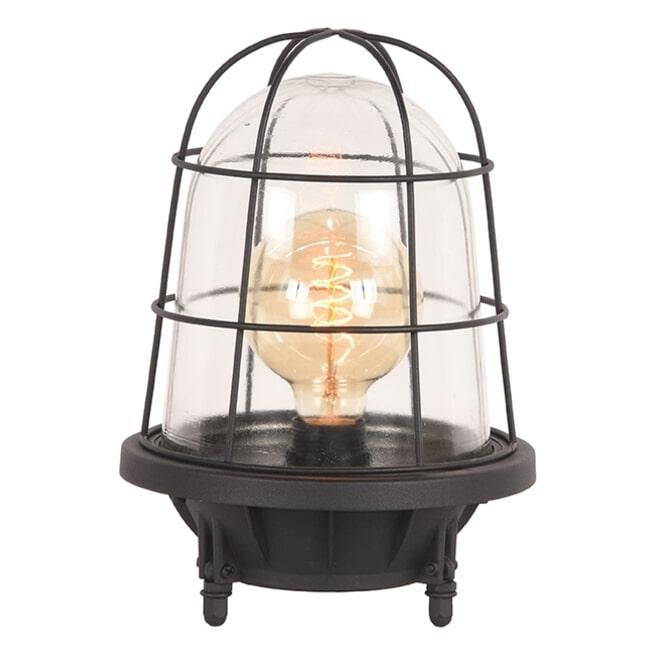 LABEL51 Tafellamp 'Seal', Metaal, kleur Zwart