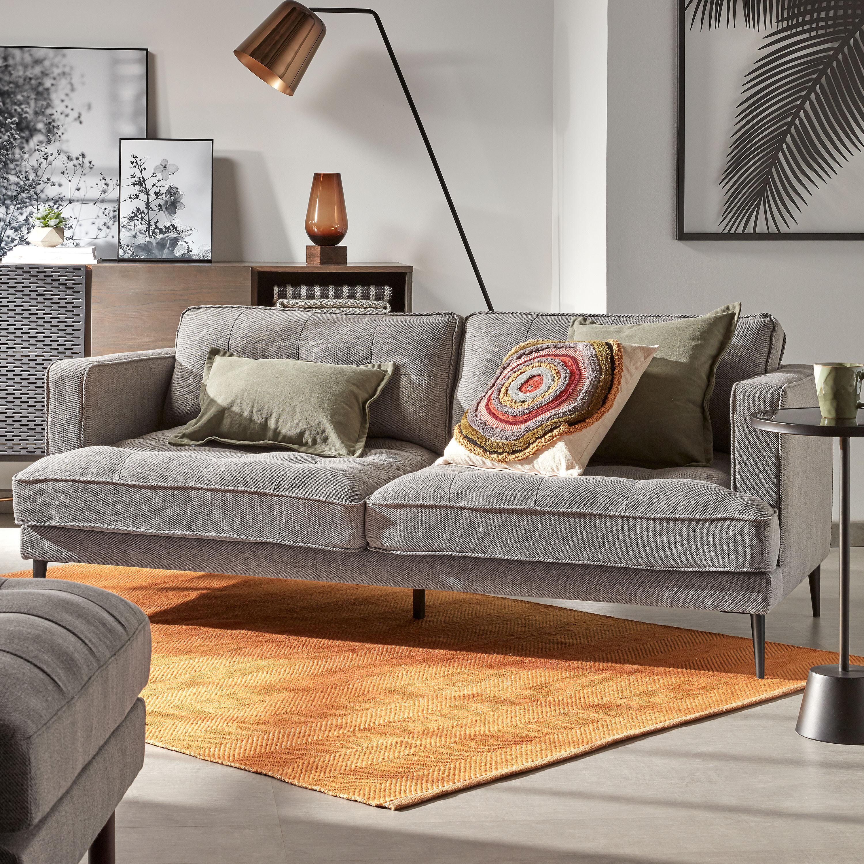 Kave Home 3-zits Bank 'Tanya', kleur Grijs