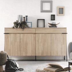 Kave Home Dressoir 'Thinh' 184cm, kleur Naturel