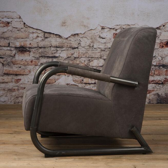 Tower Living fauteuil 'Barn' Leder