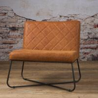 Tower Living fauteuil 'Rodeo' Leder, kleur Danza Rust