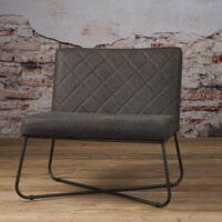 Tower Living fauteuil 'Rodeo' Leder, kleur Danza Stone