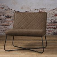 Tower Living fauteuil 'Rodeo' Leder, kleur Danza Taupe