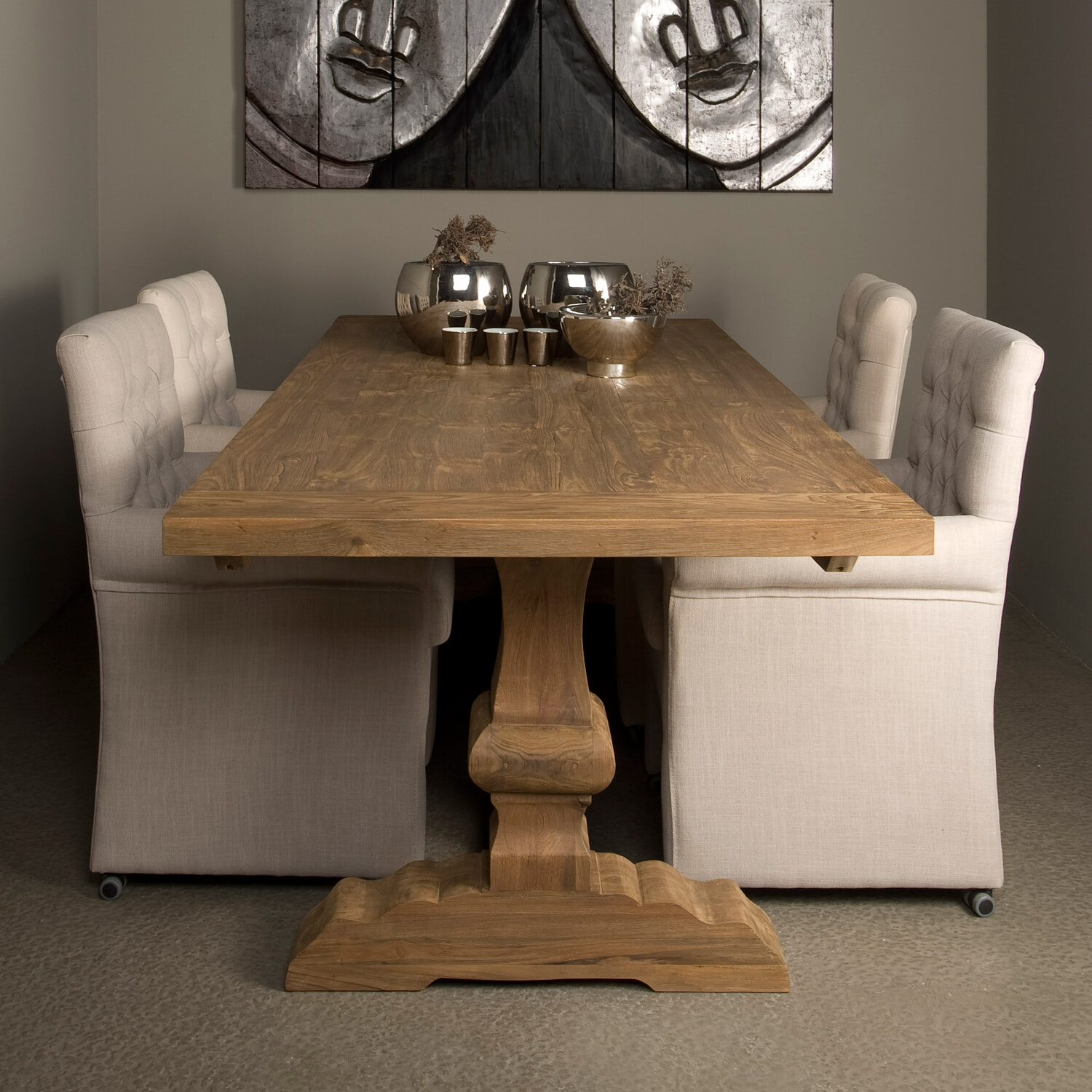 Tower Living Kloostertafel 'Le mans' 240 x 100cm