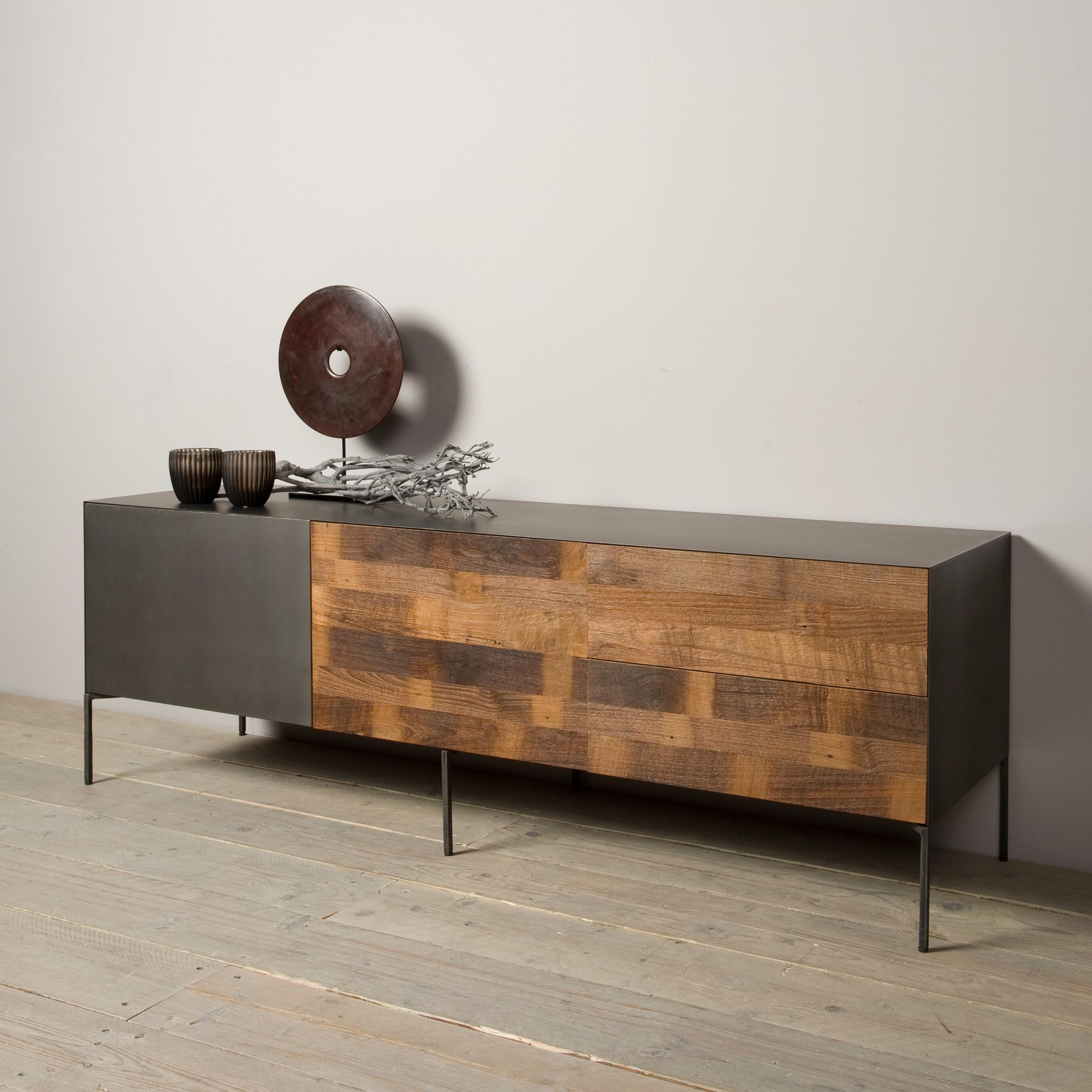Tower Living Tv-meubel 'Pandora' 165cm Kasten | Tv-Meubels & Tv-Kasten vergelijken doe je het voordeligst hier bij Meubelpartner