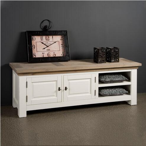 Tower Living TV-meubel 'Parma' 160 cm, kleur wit