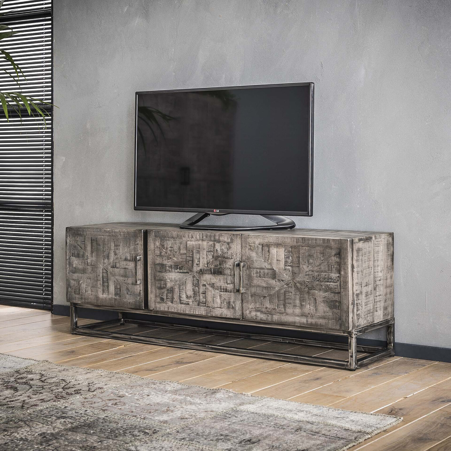 Flatscreen Tv Meubel.Tv Meubel Dwayne 150cm Meubelpartner