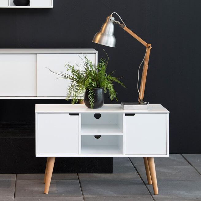Bendt Tv-meubel 'Isaac' kleur wit