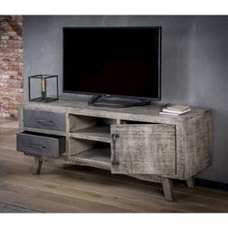 Tv meubel 'Rift' met 1 deur en 2 laden