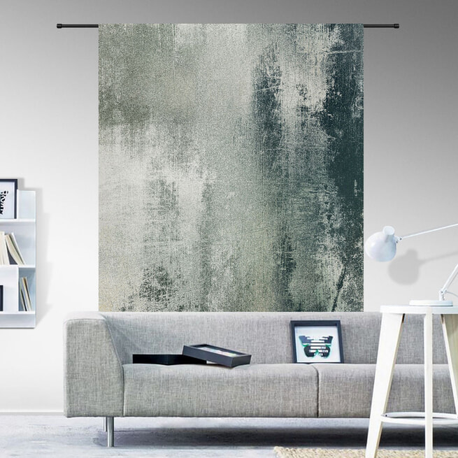 Urban Cotton Wandkleed 'Grunge', 190 x 145cm