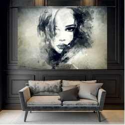 Urban Cotton Wandkleed 'The Look', 145 x 190cm