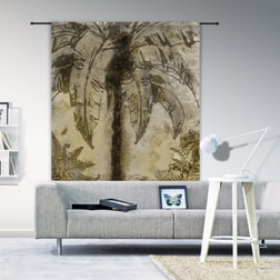 Urban Cotton Wandkleed 'Urban Jungle', 190 x 145cm