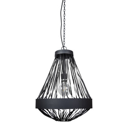 Urban Interiors hanglamp 'Brooklyn' Ø40cm, kleur Vintage Black