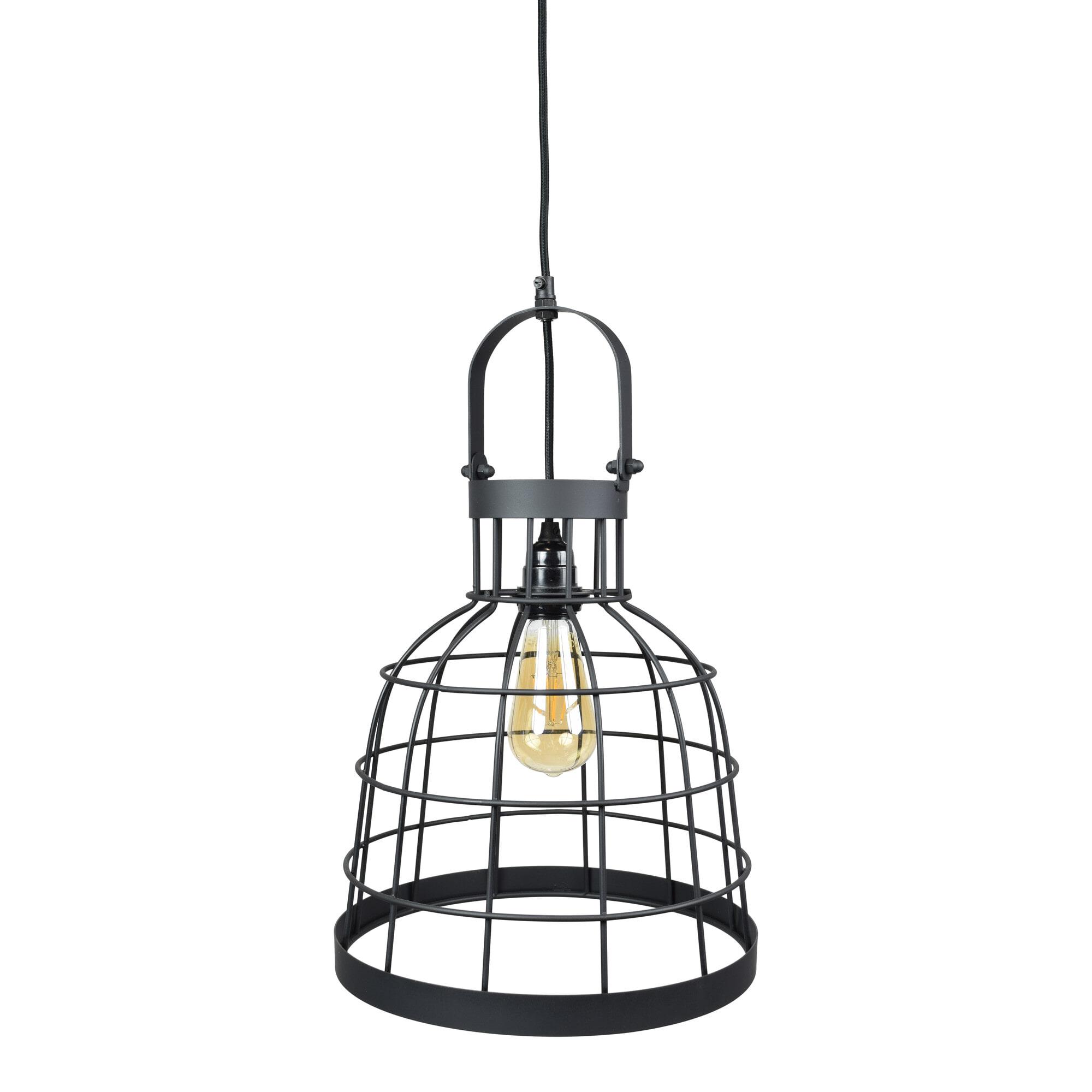 Urban Interiors hanglamp 'Bucket Large' 30cm, Black