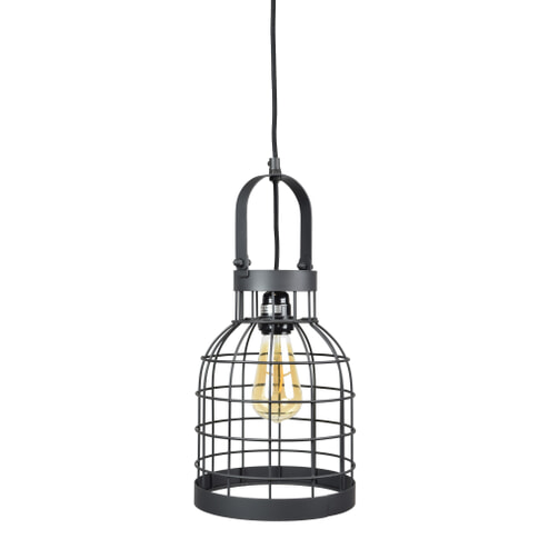 Urban Interiors hanglamp 'Bucket Small' 20cm, kleur Zwart