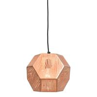 Urban Interiors Hanglamp 'Edgy' 25cm, kleur koper