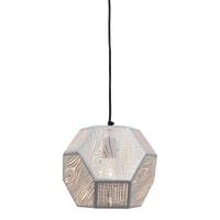 Urban Interiors Hanglamp 'Edgy' 25cm, kleur wit