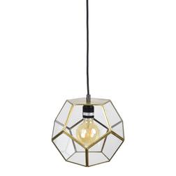 Urban Interiors hanglamp 'Geo1' 20cm, kleur Brass Antique
