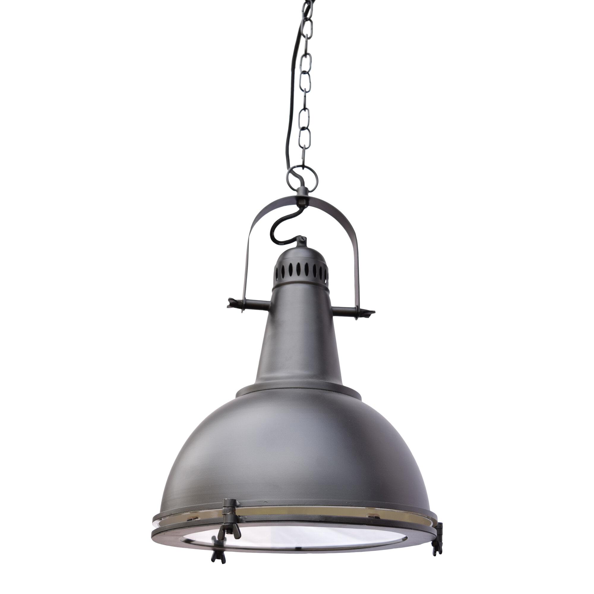 Urban Interiors hanglamp 'Hangar', kleur Mat black Verlichting | Hanglampen vergelijken doe je het voordeligst hier bij Meubelpartner