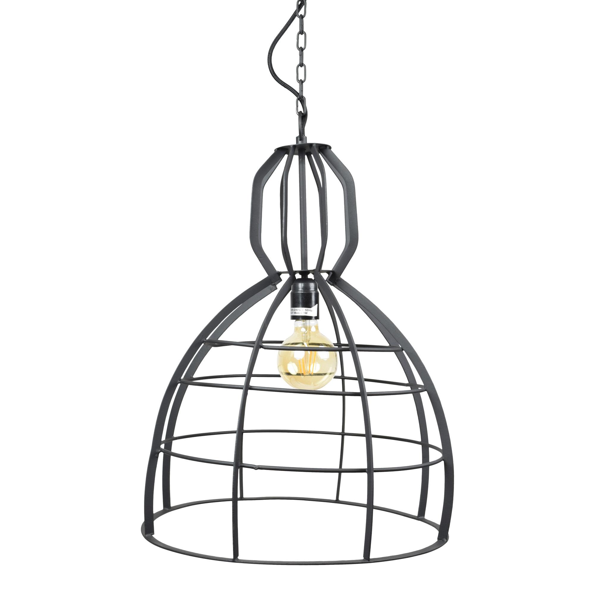Urban Interiors hanglamp 'Scandic' 40cm, kleur Vintage Black Verlichting | Hanglampen vergelijken doe je het voordeligst hier bij Meubelpartner