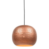 Urban Interiors Hanglamp 'Spike bol' 27cm, kleur koper