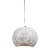 Urban Interiors Hanglamp 'Spike bol' 27cm, kleur wit
