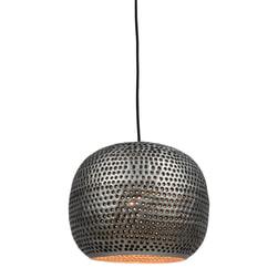 Urban Interiors hanglamp 'Spike Bol Zink' Ø27cm