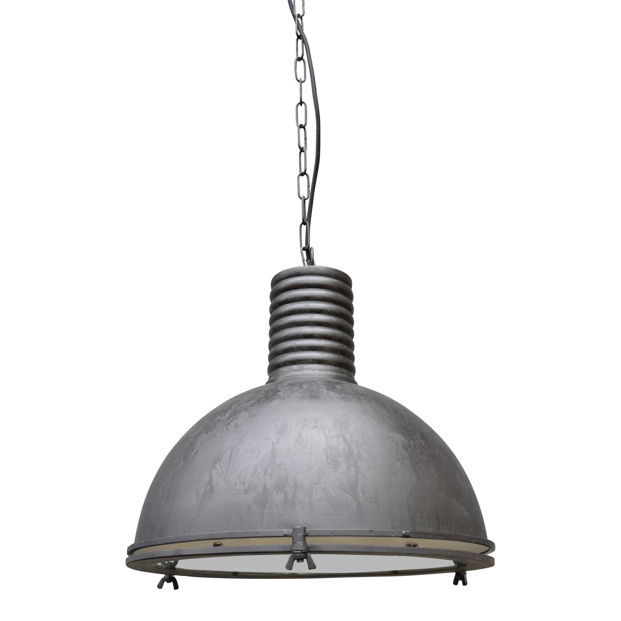 Urban Interiors hanglamp 'Vintage' Ø40cm, kleur Rough Black Verlichting | Hanglampen vergelijken doe je het voordeligst hier bij Meubelpartner