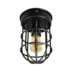 Urban Interiors plafondlamp 'Barn', kleur Vintage Black