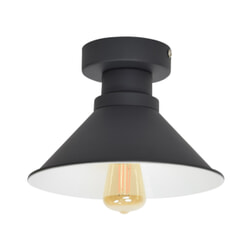 Urban Interiors plafondlamp 'Dock' Ø22cm, kleur Vintage Black