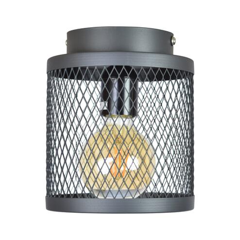 Urban Interiors plafondlamp 'Fence' Ø18cm, kleur Vintage Black