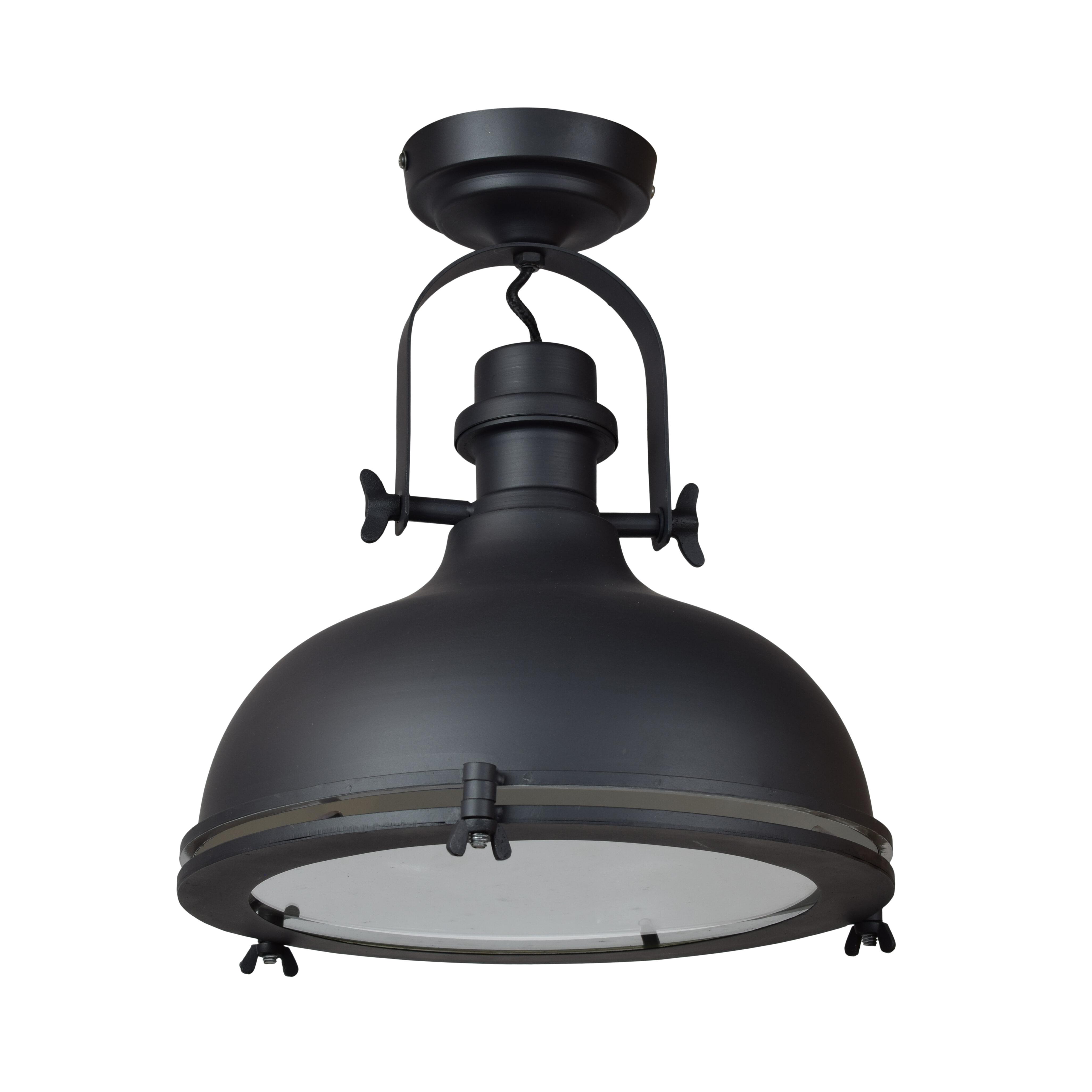Urban Interiors plafondlamp 'Harvey ?32cm.', kleur Mat Zwart Verlichting   Plafondlampen vergelijken doe je het voordeligst hier bij Meubelpartner