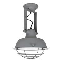 Urban Interiors Plafondlamp 'Prison' 27cm, kleur grijs