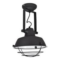 Urban Interiors Plafondlamp 'Prison' 27cm, kleur zwart