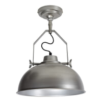 Urban Interiors Plafondlamp 'Urban' 30cm, kleur zink