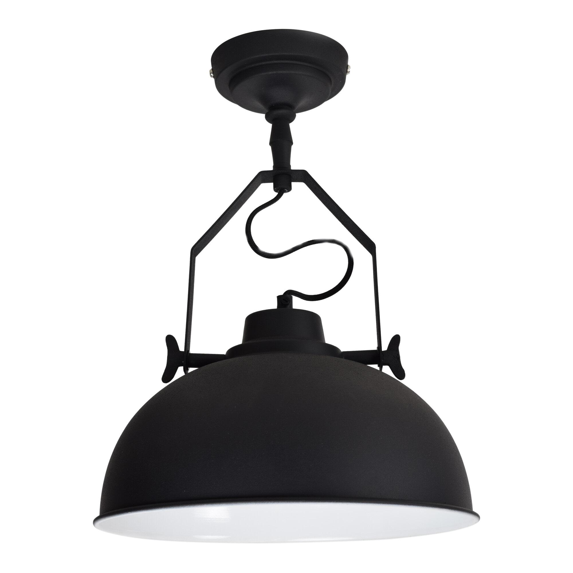 Urban Interiors Plafondlamp 'Urban' 30cm, kleur zwart  vergelijken doe je het voordeligst hier bij Meubelpartner