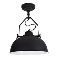 Urban Interiors Plafondlamp 'Urban' 30cm, kleur zwart