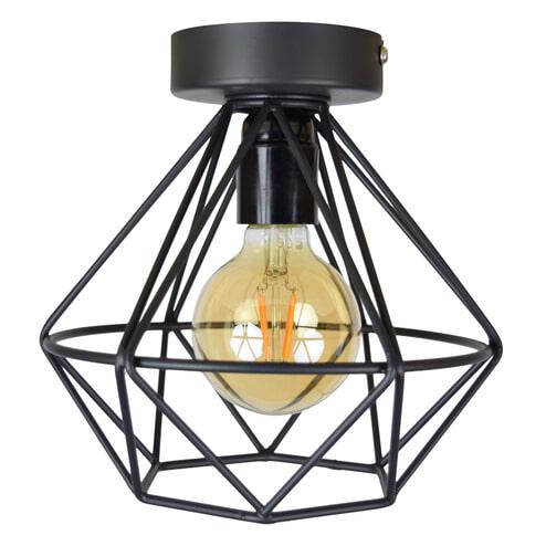 Urban Interiors plafondlamp 'Wire' Ø22cm, kleur Vintage Black