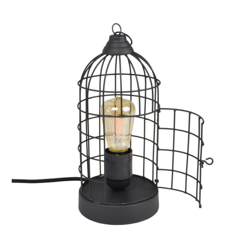 Urban Interiors tafellamp 'Birdy', kleur Mat Zwart