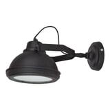 Urban Interiors Wandlamp 'Factory' kleur zwart
