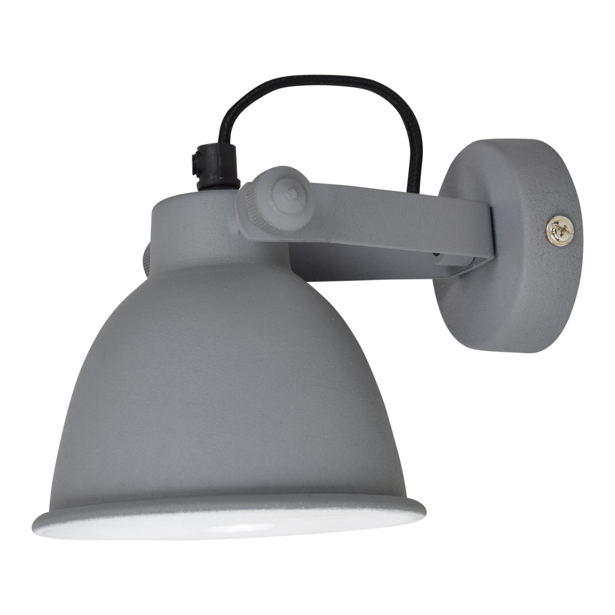 Urban Interiors Wandlamp 'Industrial, kleur grijs Verlichting   Wandlampen vergelijken doe je het voordeligst hier bij Meubelpartner
