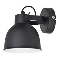 Urban Interiors Wandlamp 'Industrial' Large, kleur zwart