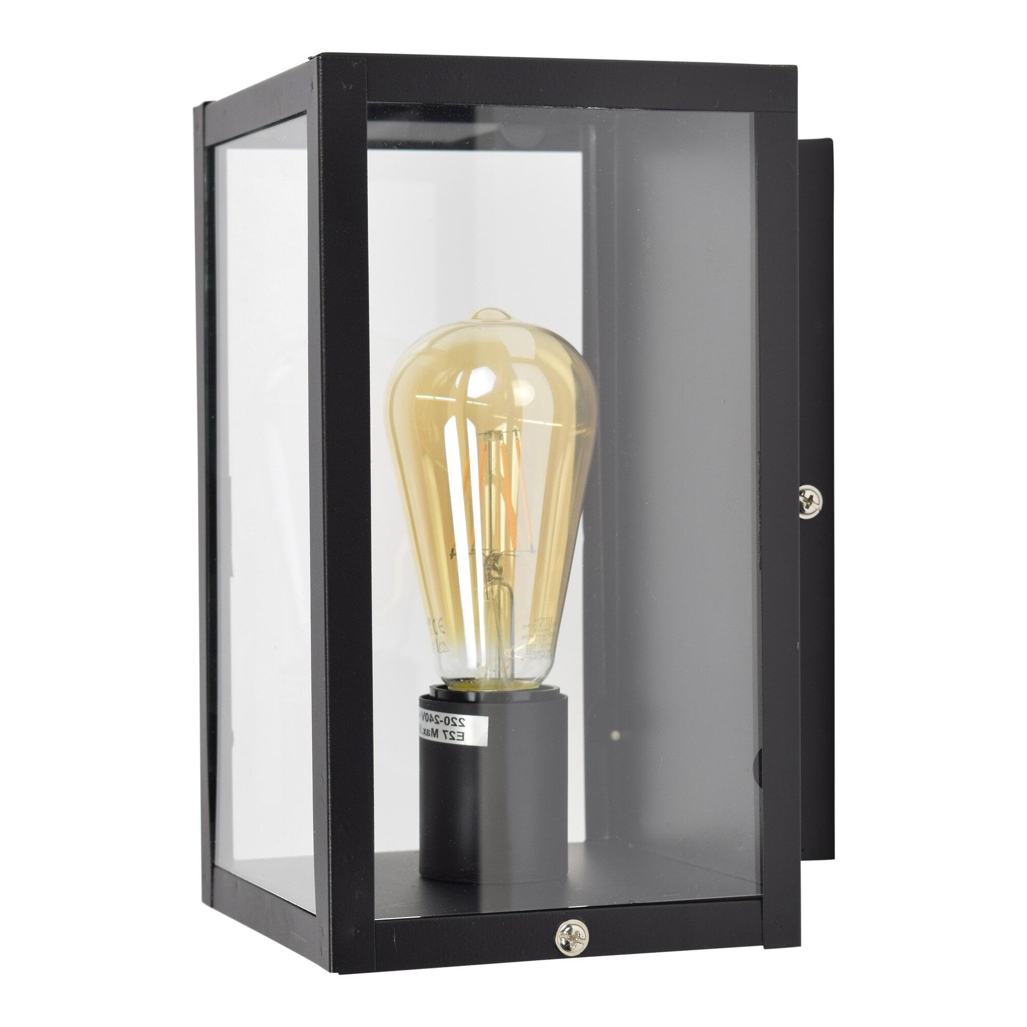 Urban Interiors wandlamp 'Loft', kleur Vintage Black Verlichting   Wandlampen vergelijken doe je het voordeligst hier bij Meubelpartner