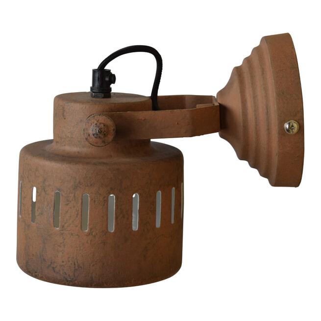 Urban Interiors wandlamp 'Vintage Rusty' Ø11,5cm