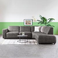 Sevn Hoekbank 'Vivaro' Rechts, kleur Antraciet