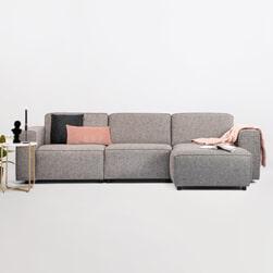 SoHome Loungebank 'Oscar' Rechts, Kleur Liver