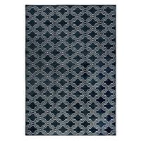 Vloerkleed 'Reynaldo' 160 x 230cm, kleur donkerblauw